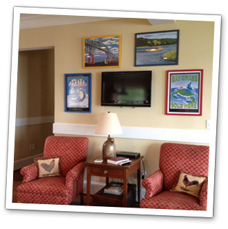 Original chesapeake bay art for Living room kilmarnock